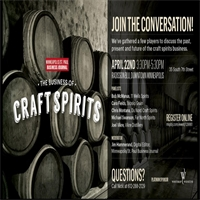 The Business of Craft Spirits – Minneapolis