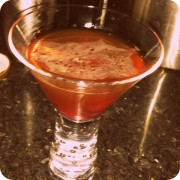 Orange Manhattan